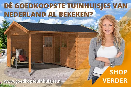 De beste en de goedkoopste tuinhuisjes vind je op goedkopetuinhuisjes.nl